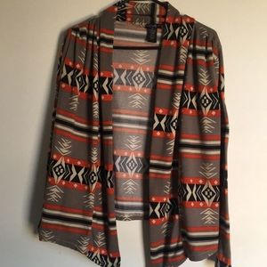 Beautiful Southwestern Cardigan Medium EUC!!